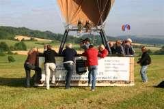 Ballonfahren mit der Flugschule Bayerwald