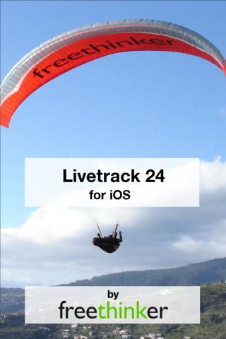 Livetracker24lite - Begrüßung