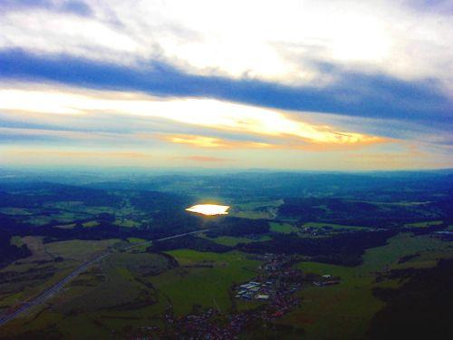 Bergsee Abend