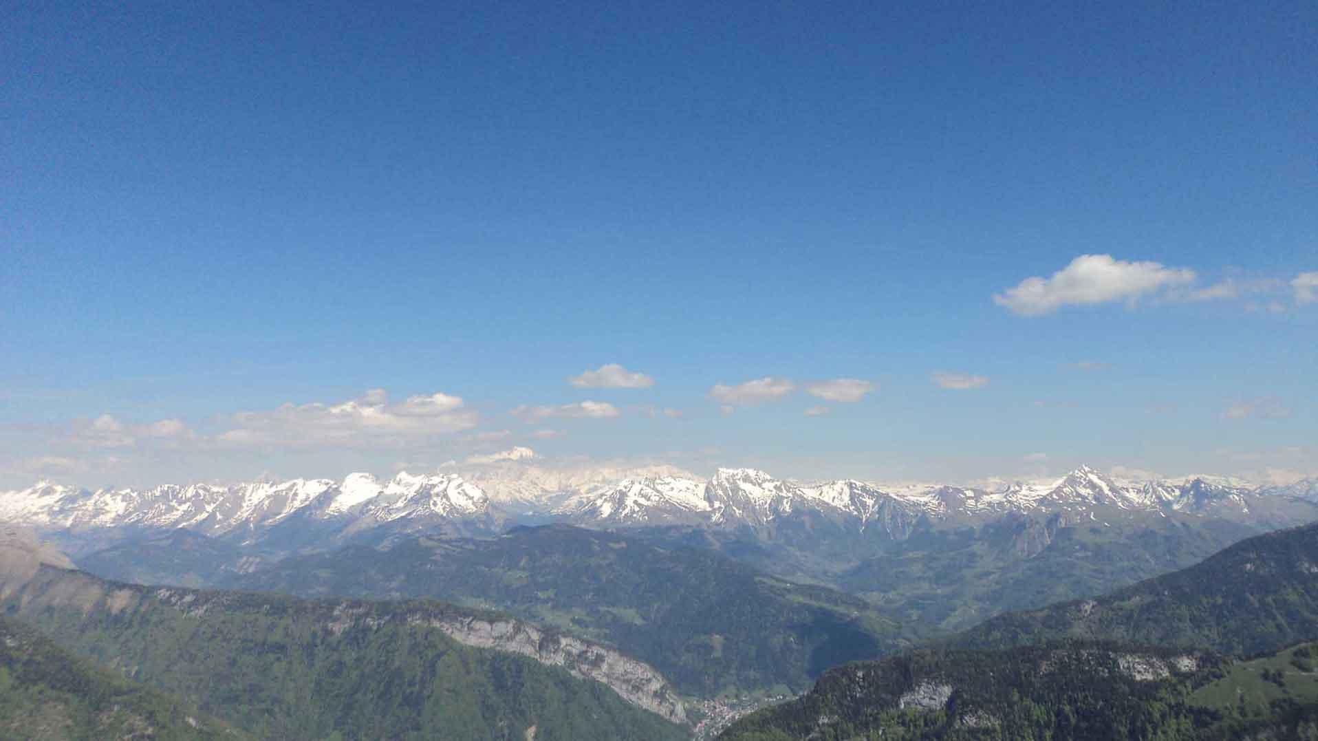 Haute Savoie - Richtung Mont Blanc