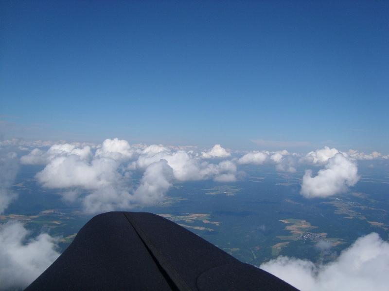 1 Tag über den Wolken.....