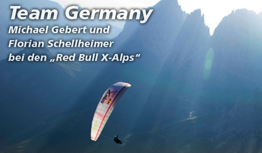 Team Germany Red Bull X-Alps 2011