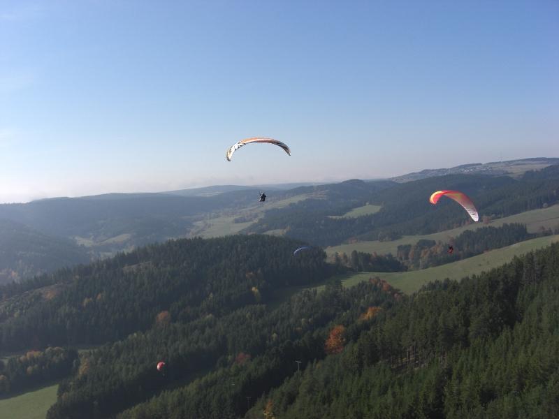 Ãœber dem Thüringer Wald
